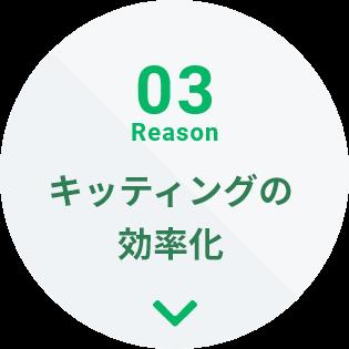 03Reason キッティングの効率化